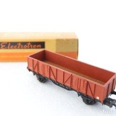 Trenes Escala: ELECTROTRÉN ANTIGUO VAGÓN 1002-1, CON CAJA. BUEN ESTADO. H0. Lote 242825195