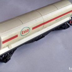 Trenes Escala: ELECTROTREN H0, VAGÓN CISTERNA ESSO. Lote 243185970