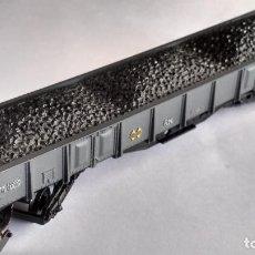 Trenes Escala: ELECTROTREN H0, VAGÓN CARGA CON CARBÓN. Lote 243186130