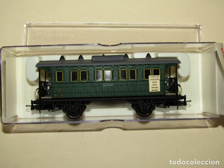 Trenes Escala: Antiguo Coche 3ª Clase MZA Cffv Verde Ref. 1511K en Escala *H0* 1/87 de ELECTROTREN - Foto 7 - 243214865