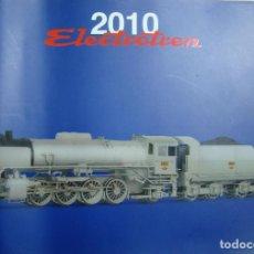 Trenes Escala: CATALOGO ELECTROTREN 2010. Lote 243352700