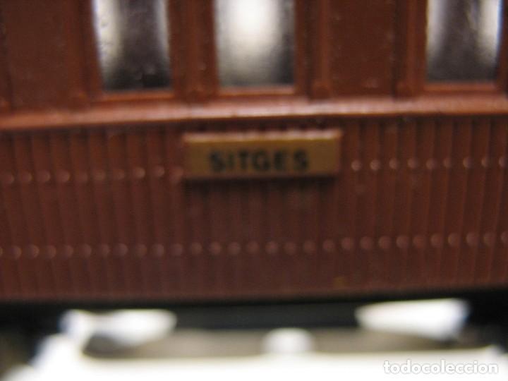 ELECTROTREN COSTA C.A.HO COLOR MARRON RENFE (Juguetes - Trenes Escala H0 - Electrotren)