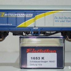 Trenes Escala: ELECTROTREN VAGON PUERTAS CORREDIZAS DE LA D-MWB REF:1653 ESCALA H0. Lote 245077215