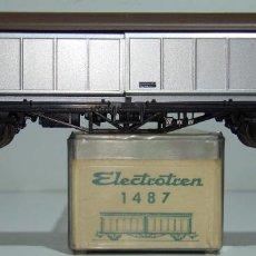 Trenes Escala: ELECTROTREN VAGON PUERTAS CORREDIZAS DE LA DSB REF:1487 ESCALA H0. Lote 245077905