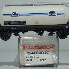 Trenes Escala: ELECTROTREN VAGON TOLVA CEMENTOS OMYA DE LA SNCF REF:5460 ESCALA H0. Lote 245079165