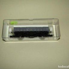 Trenes Escala: ANTIGUO VAGÓN BORDE MEDIO RENFE REF. 1121 ESCALA *H0* DE ELECTROTREN. Lote 245454495