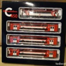 Trenes Escala: CERCANÍAS DE DOS PISOS ELECTROTREN S-450 DIGITALIZADO. Lote 245536035