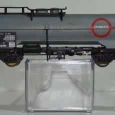 Trenes Escala: ELECTROTREN VAGÓN CISTERNA TRANSFESA DE LA DB ESCALA H0. Lote 245911120