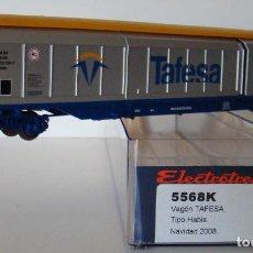 Trenes Escala: ELECTROTREN VAGON PUERTAS DESLIZANTES TAFESA DE LA DB REF:5568 ESCALA H0. Lote 245970250