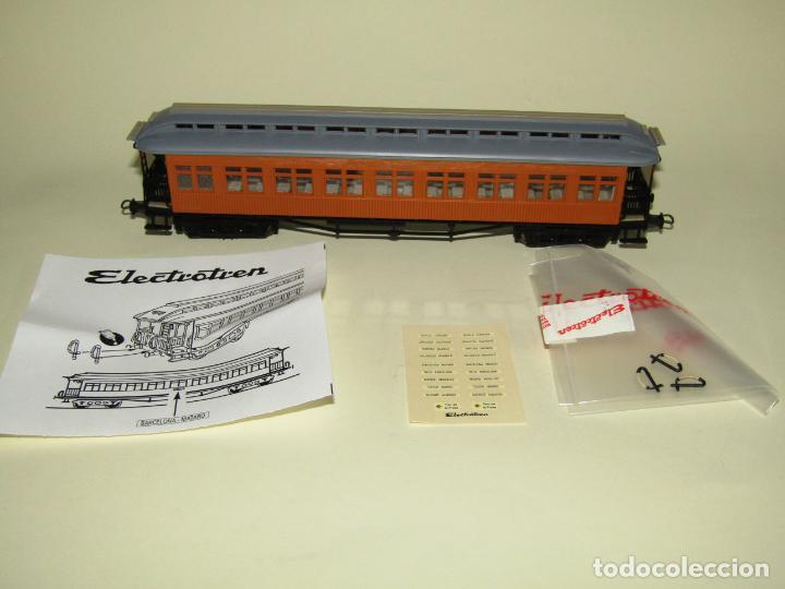 Trenes Escala: Antiguo Coche Costa 2ª Clase MZA Matrícula BWffv 29 en Escala *H0* Ref 5010K de ELECTROTREN - Foto 3 - 245984585