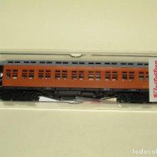 Trenes Escala: ANTIGUO COCHE COSTA 2ª CLASE MZA MATRÍCULA BWFFV 29 EN ESCALA *H0* REF 5010K DE ELECTROTREN. Lote 245984585