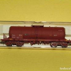 Trenes Escala: ANTIGUO VAGÓN CISTERNA RENFE EN ESCALA *H0* REF 5802K DE ELECTROTREN. Lote 246131530