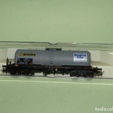 Trenes Escala: ANTIGUO VAGÓN CISTERNA DE LA SNCF SIMOTRA BEGUIN EN ESCALA *H0* REF 5805K DE ELECTROTREN. Lote 246132520