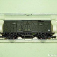 Trenes Escala: ANTIGUO FURGÓN2 EJES RENFE DV 339937 EN ESCALA *H0* REF 1343 DE ELECTROTREN. Lote 246161565