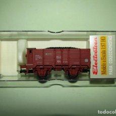 Trenes Escala: ANTIGUO VAGÓN X CON GARITA RENFE ROJO ÉPOCA 4 EN ESCALA *H0* REF 1964 DE ELECTROTREN. Lote 246162220