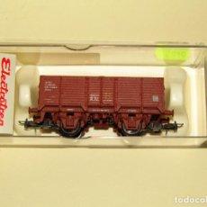 Trenes Escala: ANTIGUO VAGÓN BORDE ALTO X RENFE CON POTASA EN ESCALA *H0* REF. 1927 DE ELECTROTREN. Lote 246164305