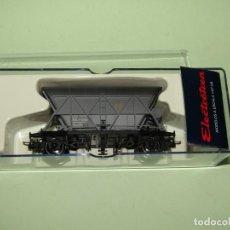 Trenes Escala: VAGÓN TOLVA 2 EJES ENVEJECIDA SUSC. MAQUETREN EN ESCALA *H0* REF. 0915K DE ELECTROTREN. Lote 246215295