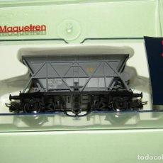 Trenes Escala: VAGÓN TOLVA 2 EJES ENVEJECIDA SUSC. MAQUETREN EN ESCALA *H0* REF. 0915K DE ELECTROTREN. Lote 246215380
