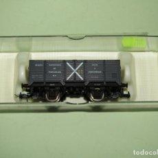 Trenes Escala: ANTIGUO VAGÓN BORDE ALTO MINERO DE SIDERÚRGICA DE PONFERRADA EN ESCALA *H0* REF. 1921 DE ELECTROTREN. Lote 246216755