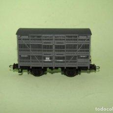 Trenes Escala: ANTIGUO VAGÓN JAULA GANADO 3 PISOS DE RENFE FGFV96903 EN ESCALA *H0* REF. 1930B DE ELECTROTREN. Lote 246218445