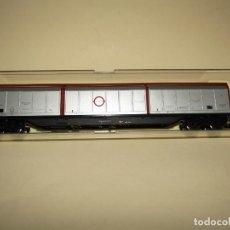 Trenes Escala: ANTIGUO VAGÓN 6 PUERTAS CORREDERAS TELESCÓPICAS DE TRANSFESA EN ESCALA *H0* REF. 5505 DE ELECTROTREN. Lote 246329660