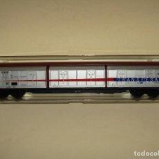 Trenes Escala: ANTIGUO VAGÓN 6 PUERTAS CORREDERAS TELESCÓPICAS TRANSFESA DB EN ESCALA *H0* REF 5502K DE ELECTROTREN. Lote 246330250