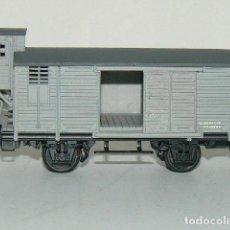 Trenes Escala: VAGÓN J CON GARITA. ELECTROTREN. Lote 247559465