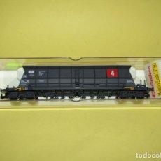Trenes Escala: ANTIGUO VAGÓN TOLVA TREMIE EF 60 *EDF 4* DE LA SNCF EN ESCALA *H0* REF. 5736 DE ELECTROTREN. Lote 247773665