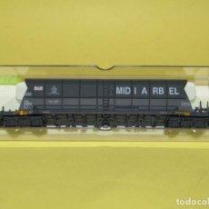 Trenes Escala: ANTIGUO VAGÓN TOLVA TREMIE EF 60 MIDI ARBEL DE LA SNCF EN ESCALA *H0* REF. 5737 DE ELECTROTREN. Lote 247778405