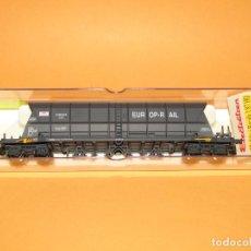 Trenes Escala: ANTIGUO VAGÓN TREMIE EF 60 EUROP-RAIL DE LA SNCF EN ESCALA *H0* REF. 5735 DE ELECTROTREN. Lote 247783605