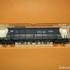 Trenes Escala: ANTIGUO VAGÓN TREMIE EF 60 STEMI SGW DE LA SNCF EN ESCALA *H0* REF. 5734 DE ELECTROTREN. Lote 248145465