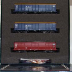 Trenes Escala: ELECTROTREN SET DE 3 VAGONES EALOS AX BENET/CTL REF; 6522 ESCALA H0. Lote 263046020