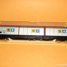 Trenes Escala: VAGÓN 6 PUERTAS DESLIZANTES HABIS OPEL GM DE LA DB EN ESCALA *H0* REF.5511 DE ELECTROTREN. Lote 249084030