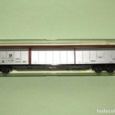 Trenes Escala: VAGÓN PUERTAS DESLIZANTES DE DEUTSCHE BUNDESPOST ESCALA *H0* REF 5510 DE ELECTROTREN MADE IN SPAIN. Lote 251333840