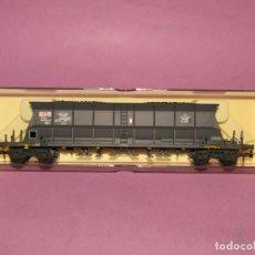 Trenes Escala: ANTIGUO VAGÓN TREMIE TRANSPORTE DE HULLA SGW DE LA SNCF EN ESCALA *H0* REF. 5702 DE ELECTROTREN. Lote 251368160