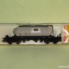 Trenes Escala: VAGÓN TOLVA TREMIE SNCF CIMENTS D'ORIGNY EN ESCALA *H0* REF. 5418K DE ELECTROTREN. Lote 251369645
