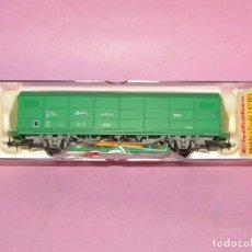 Trenes Escala: VAGÓN CERRADO JPD CARGAS RENFE ÉPOCA 5 REF. 1752K EN ESCALA *H0* DE ELECTROTREN. Lote 251373425