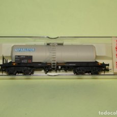 Trenes Escala: VAGÓN CISTERNA SNCF PARLEFER REF. 5812K ESCALA *H0* DE ELECTROTREN. Lote 251400530
