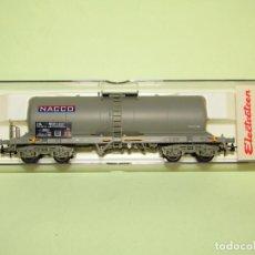 Trenes Escala: VAGÓN CISTERNA DE LA SNCF NACCO REF. 5806K ESCALA *H0* DE ELECTROTREN. Lote 251401020