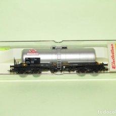 Trenes Escala: VAGÓN CISTERNA DE LA SNCF SGTL - SEWAR REF. 5813K ESCALA *H0* DE ELECTROTREN. Lote 251402615