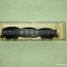 Trenes Escala: VAGÓN 4 EJES CON CARBÓN ANTRACITAS DE PONFERRADA S.L. EN ESCALA *H0* REF. 5152 DE ELECTROTREN. Lote 251408675