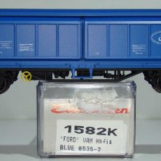 Trenes Escala: ELECTROTREN VAGON PUERTAS CORREDIZAS DE FORD DE DB REF:1582 ESCALA H0. Lote 254550595