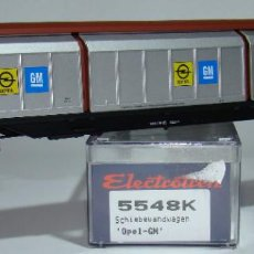 Trenes Escala: ELECTROTREN VAGON PAREDES DESLIZANTES OPEL DE LA DB REF.: 5548 ESCALA H0. Lote 256036210