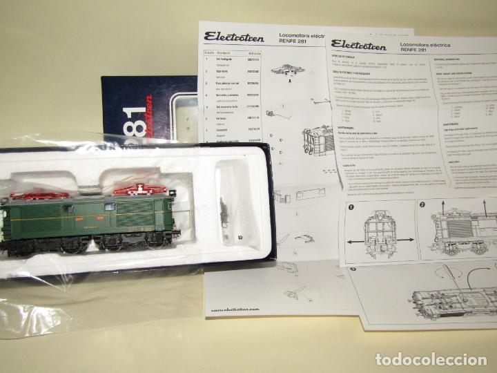 Trenes Escala: Locomotora Eléctrica RENFE 281 Ref. 2753 en Escala *H0* de ELECTROTREN - Foto 4 - 256057065