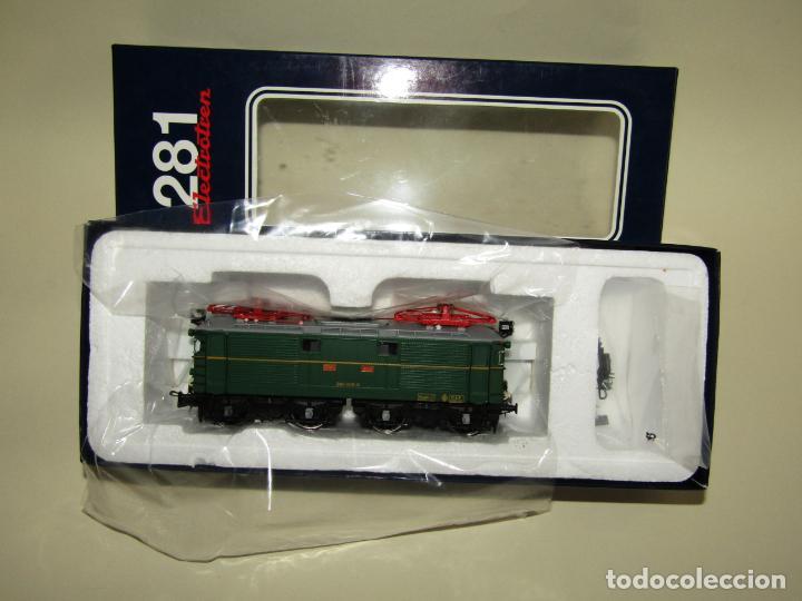 Trenes Escala: Locomotora Eléctrica RENFE 281 Ref. 2753 en Escala *H0* de ELECTROTREN - Foto 6 - 256057065