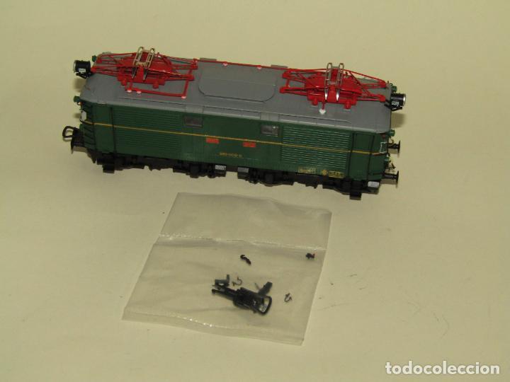 Trenes Escala: Locomotora Eléctrica RENFE 281 Ref. 2753 en Escala *H0* de ELECTROTREN - Foto 8 - 256057065
