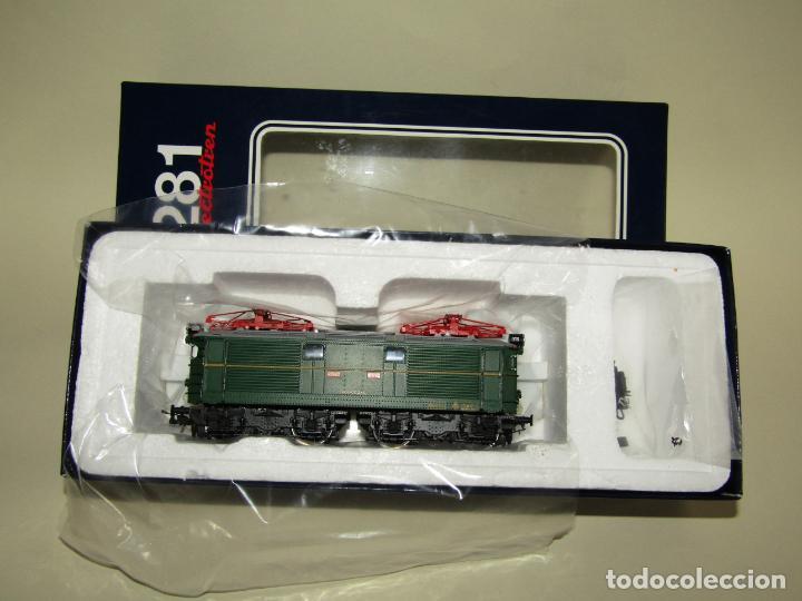 Trenes Escala: Locomotora Eléctrica RENFE 281 Ref. 2753 en Escala *H0* de ELECTROTREN - Foto 15 - 256057065