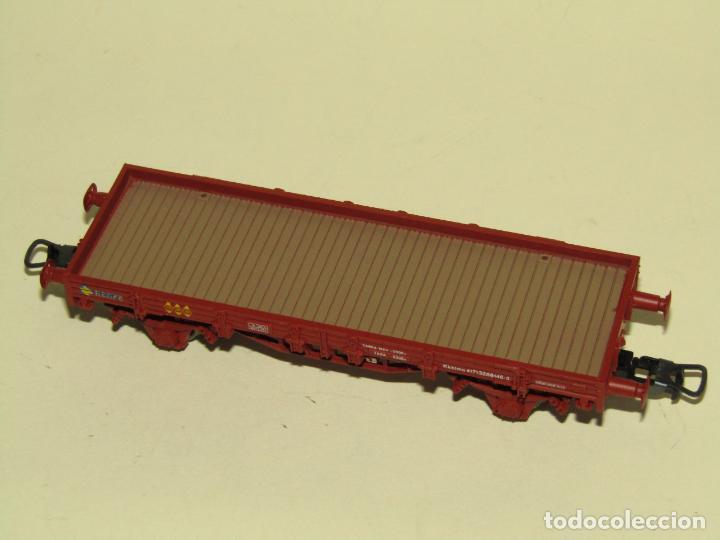 Trenes Escala: Antiguo Vagón Borde Bajo en Escala *H0* Ref. 1020 de ELECTROTREN - Foto 5 - 257520205