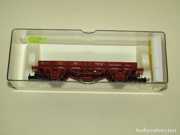 Trenes Escala: Antiguo Vagón Borde Bajo en Escala *H0* Ref. 1020 de ELECTROTREN - Foto 6 - 257520205