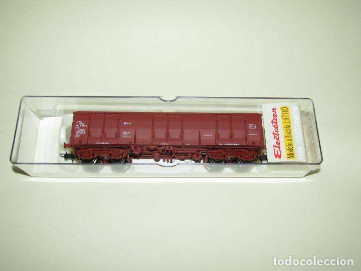VAGÓN ABIERTO EALOS RENFE ÉPOCA 5 EN ESCALA *H0* REF. 5352K DE ELECTROTREN (Juguetes - Trenes Escala H0 - Electrotren)